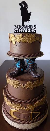 Pictures Of Western Themed Wedding Cakes - 5000+ Simple Wedding Cakes
